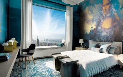 Interiorismo para hoteles: Cómo incluir el papel pintado en tus proyectos