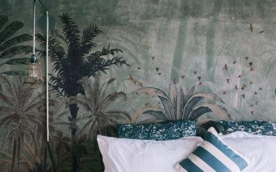 Papel pintado veraniego para hoteles de playa