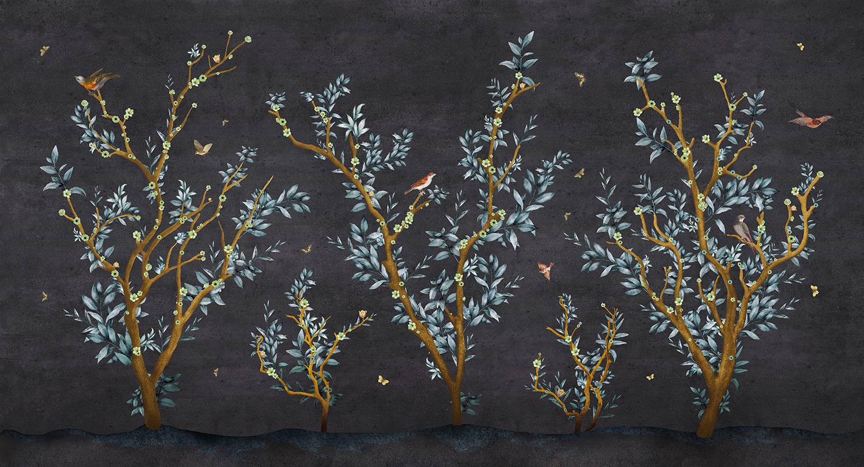 papel pintado para restaurantes